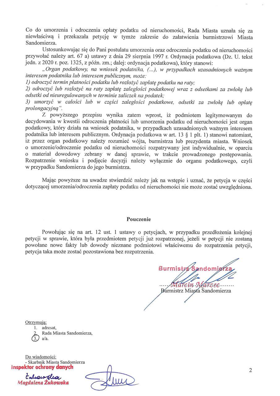 Zaświadczenie o sposobie załątwienia petycji s.2.jpeg