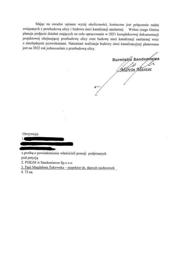 Petycja w spr. kanalizacji ul. Sandomierskiego s.2.jpeg