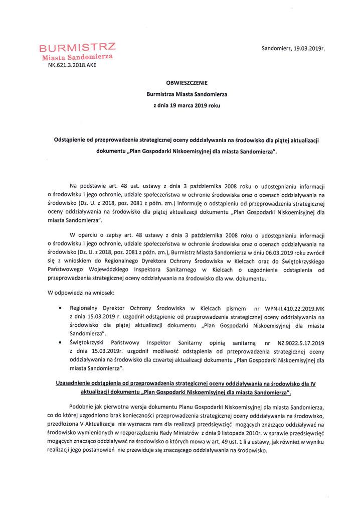 Obwieszczenie B.S. odstąpienie od oceny dla V aktualizacji s.1.jpeg