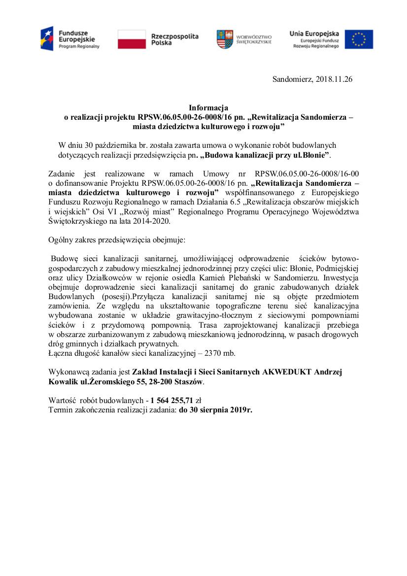 informacja -kanalizacja przy ul. Błonie.3.jpeg