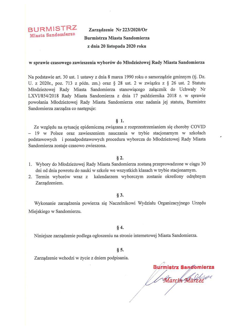 zarzadzenie nr 223 2020 Or burmistrza-miasta-sandomierza.jpeg
