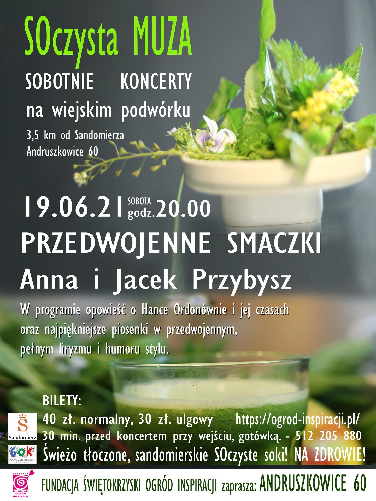 PLAKAT19.06 Przeedwojenne Smaczki z logami Samborca i Sandomierz.jpeg