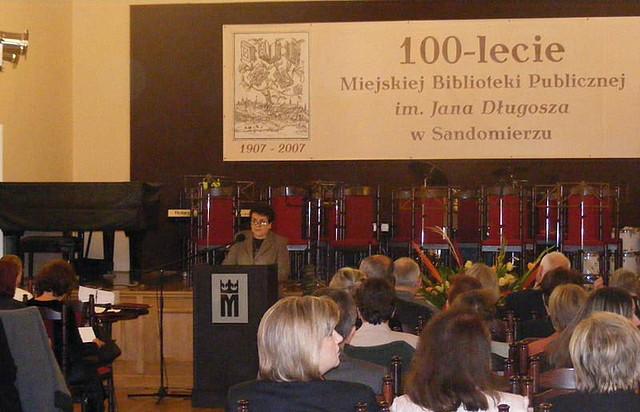 Galeria 100 lat Biblioteki Miejskiej