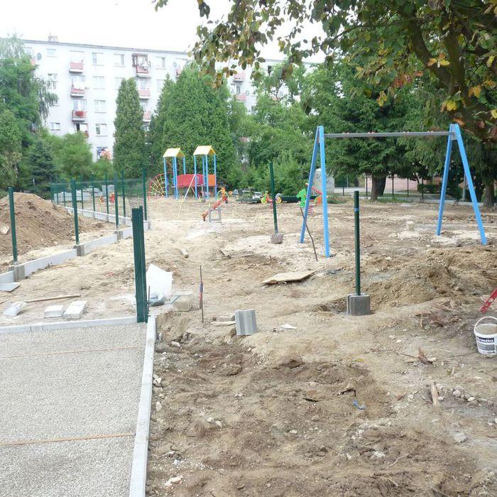 Galeria modernizacja placu przedszkola nr6