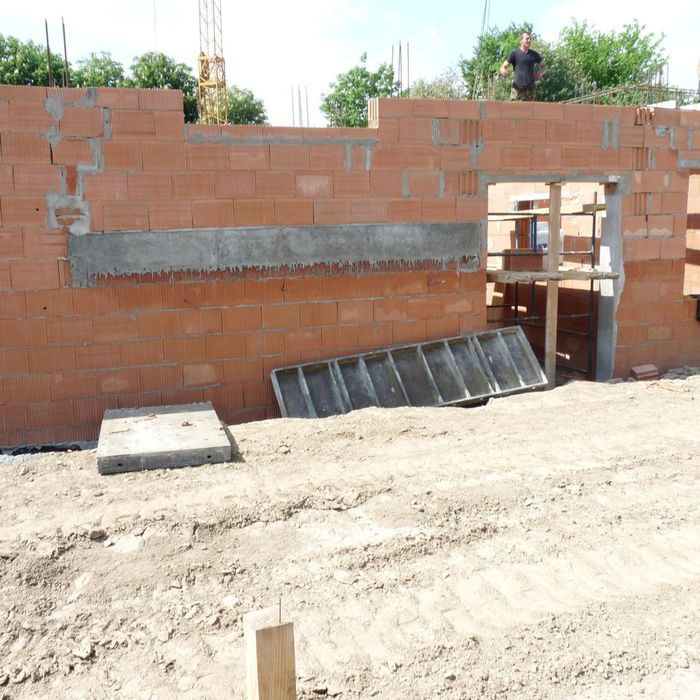przedszkole nr 6 - prace nad budynkiem