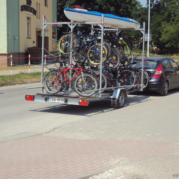 Galeria tray kajakowo-rowerowe