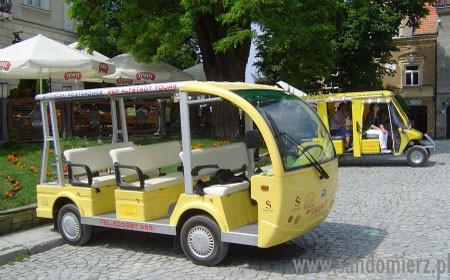 Galeria zwiedzanie pojazdemm elektrycznym