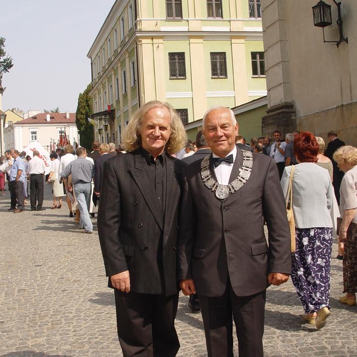 Galeria łańcuch ceremonialny burmistrza Sandomierza