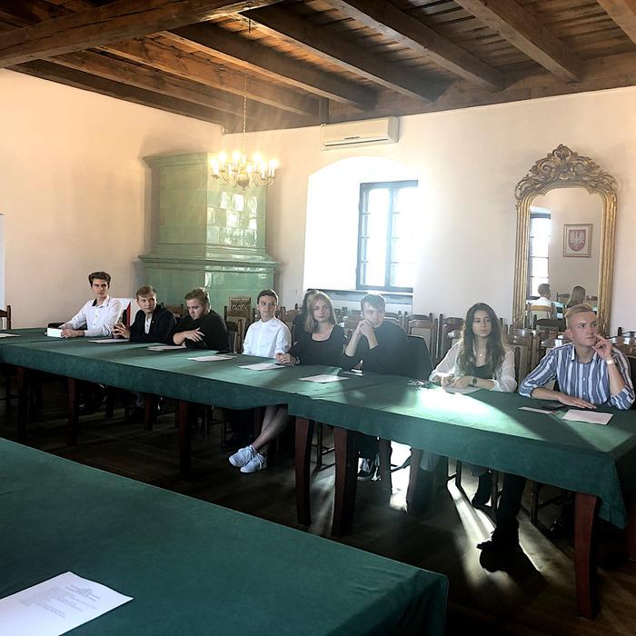 Galeria sesja Młodzieżowej Rady Miasta
