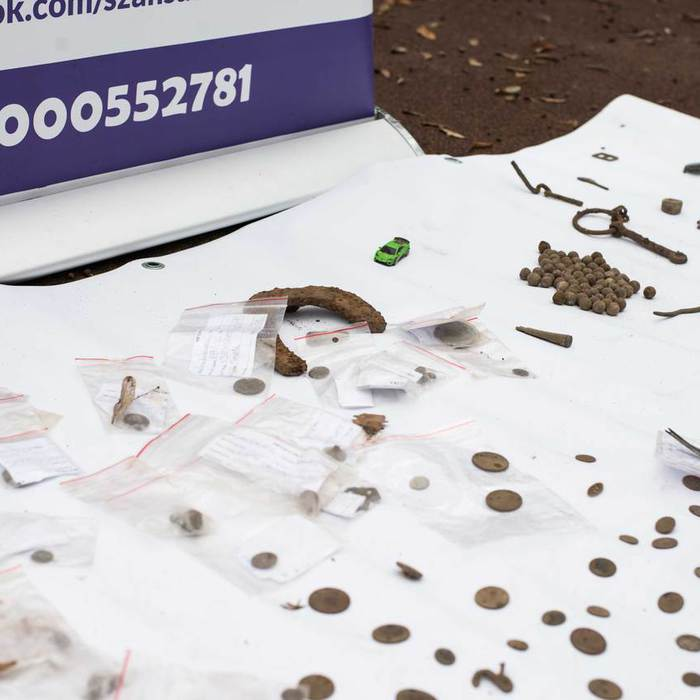 Galeria skarby w Parku Miejskim