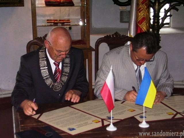 Galeria Podpisanie Aktu Partnerstwa Miast, Ostróg