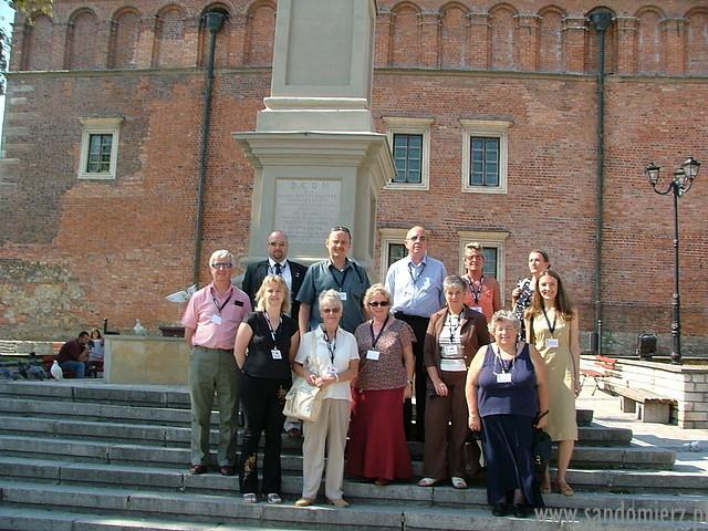 Galeria Newark-on-Trent spotkanie w Sandomierzu
