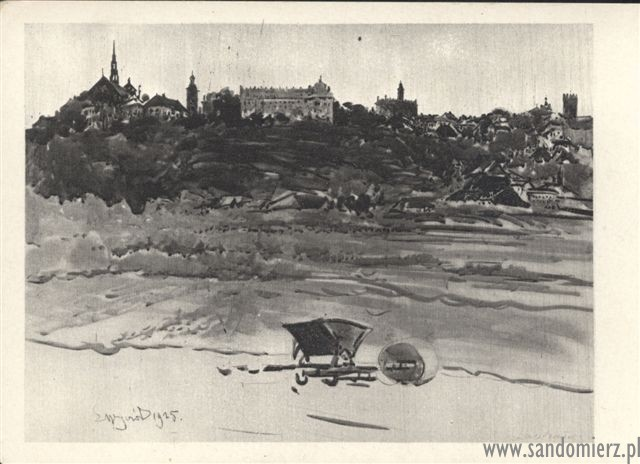 Galeria Stare pocztówki z Sandomierza