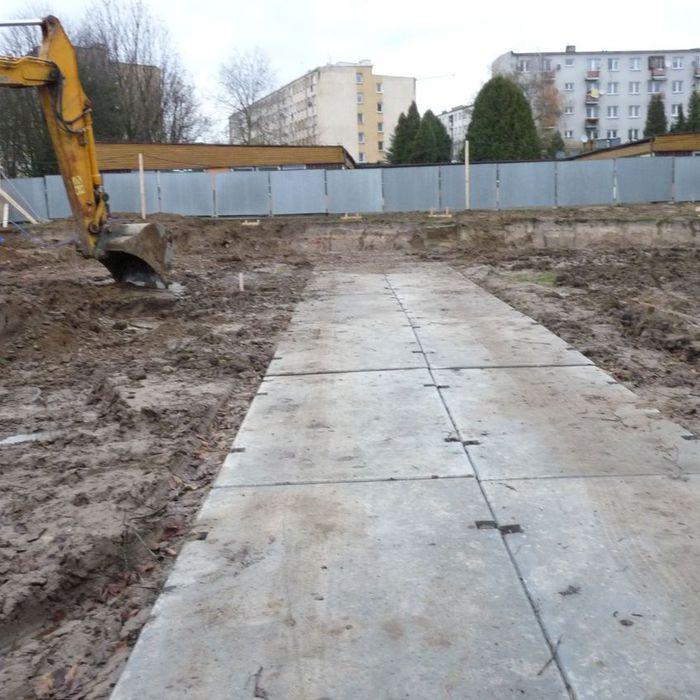 Galeria budowa Pszedszkola nr 6 (wjazd i ogrodzenia)