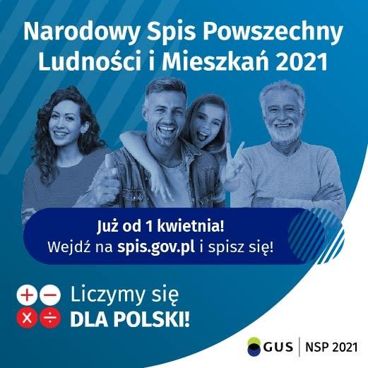 Galeria Narodowy Spis Powszechny Ludności i Mieszkań 2021