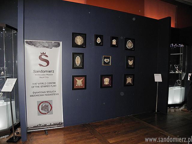 Galeria Krzemie pasiasty w Muzeum Bursztynu w Gdańsku