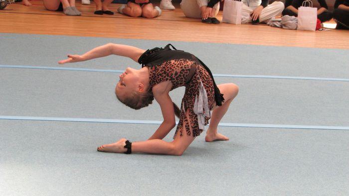 Galeria Wielki sukces sandomierskich akrobatek