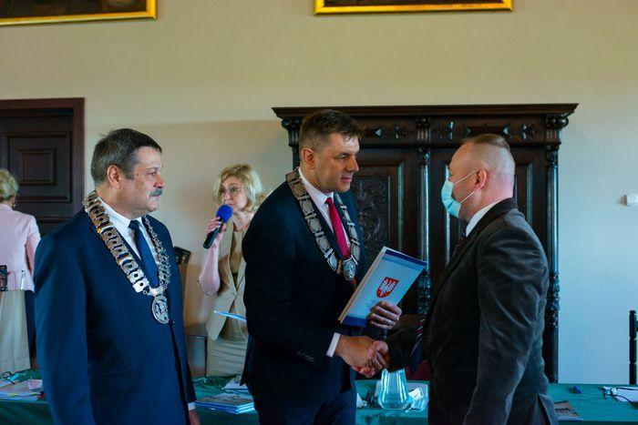 Galeria Uroczysta sesja Rady Miasta Sandomierza