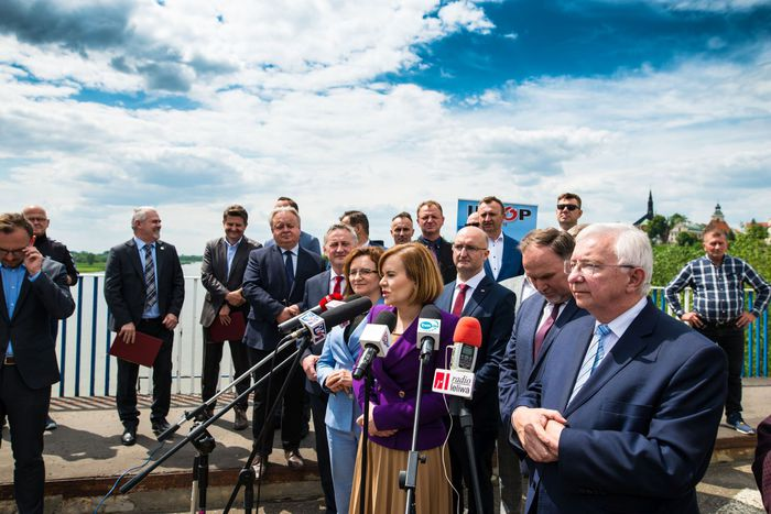 Galeria Przebudowa mostu na Wiśle w Sandomierzu