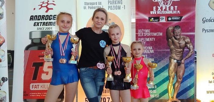 Galeria Sukcesy sandomierskich akrobatek w Zblewie