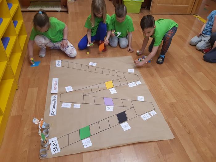 Galeria Matematyczna gra planszowa