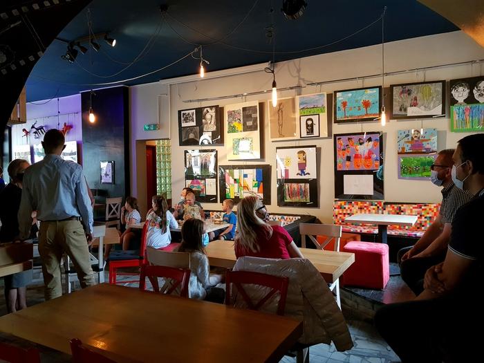 Galeria Wystawa młodych artystów otwarta