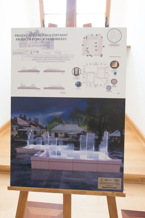Galeria Rewitalizacja fontanny na Małym Rynku w Sandomierzu