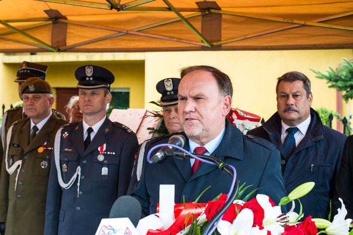 56. Marek Kwitek Poseł na Sejm wygłasza przemówienie