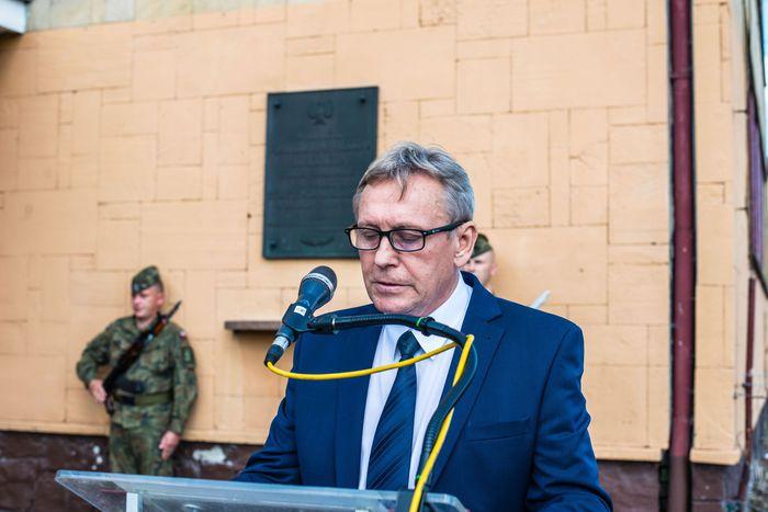05. Andrzej Bolewski miejski radny wygłasza przemówienie
