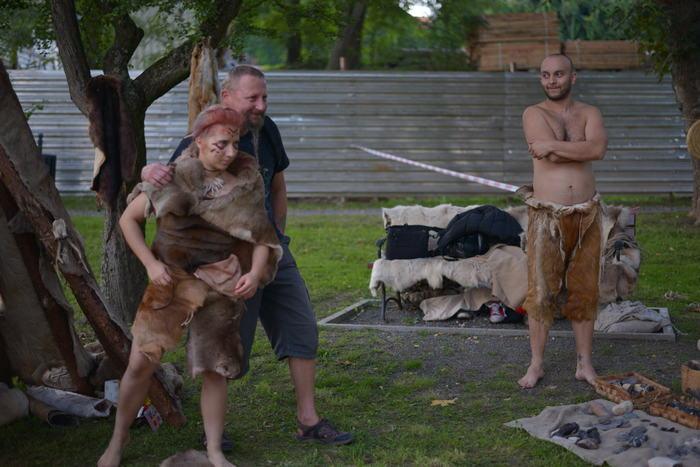 Prehistoryczna atrakcja - wioska neolityczna.