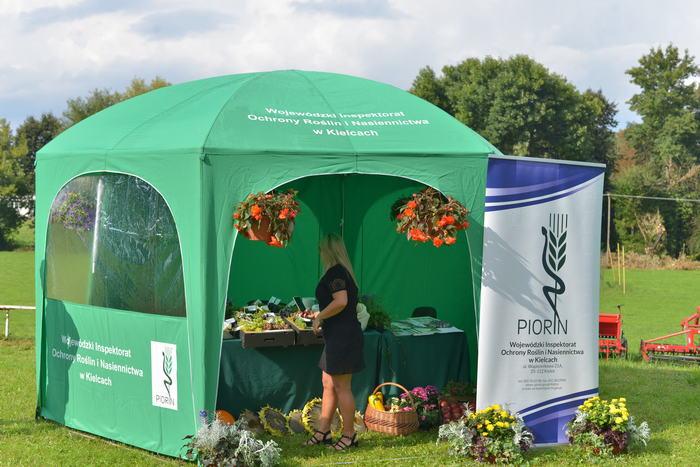 05. Namiot promocyjny Wojewódzkiego Inspektoratu Ochrony Roślin i Nasiennictwa w Kielcach
