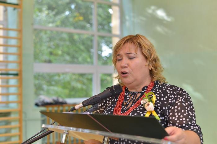 26. Dyrektor Zespołu Szkół Centrum Kształcenia Rolniczego wygłasza przemówienie