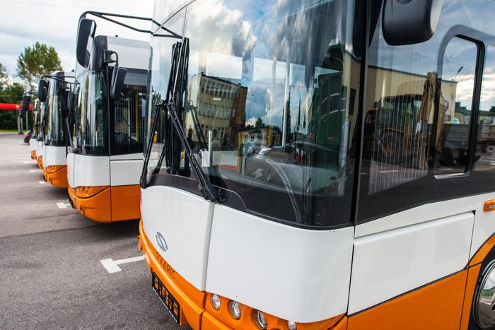 05. Nowe autobusy w bazie Zakładu Komunikacji Miejskiej