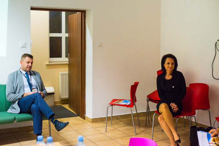 10. Pracownicy sandomierskiego punktu informacyjno-konsultacyjnego opowiadają o programie Czyste Powietrze