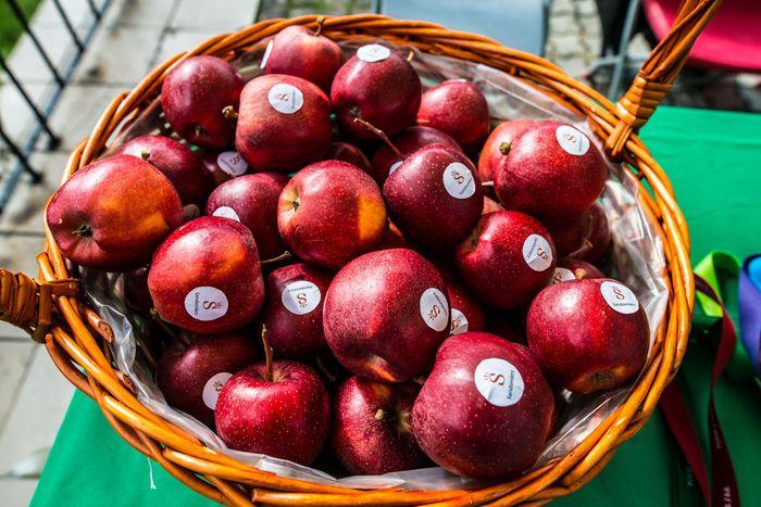 02. Kosz z jabłkami